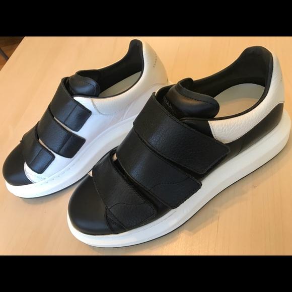 Alexander Sneaker Poshmark McQueen Velcro Oversized Shoes vtvFr